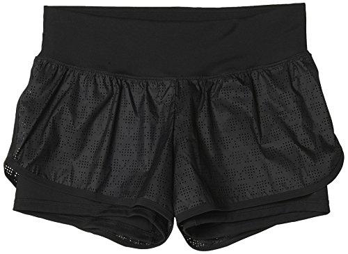Adidas Gym Shorts (adidas Damen Shorts Gym 2IN1, Schwarz, XL, 4056561454765)