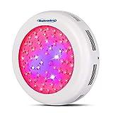 Roleadro LED Grow Lampe 300W UFO Pflanzenleuchte Wachstum LED Grow Light für Zimmerpflanzen Wachstum im Growbox/Gewächshaus/Grow Tent mit IR UV Licht