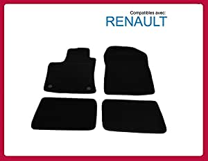 l 39 ensemble de tapis de sol pour renault twingo 2 tapis voiture d011 cm0. Black Bedroom Furniture Sets. Home Design Ideas