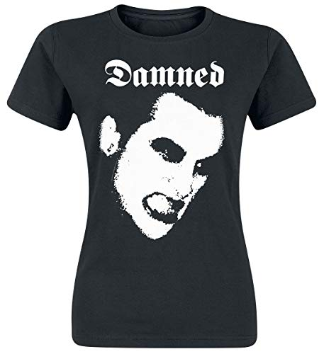 Ladies The Damned Portrait T-Shirt, S to XXL