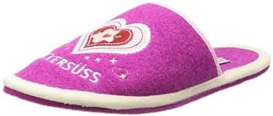 Adelheid Zuckersüss Filzpantoffel 11230913254, Damen Pantoffeln, Pink (pink 661), EU 36/37