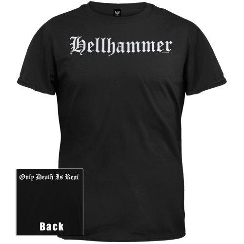 Old Glory - Hellhammer - Uomo Old English Logo T-shirt X-Large Nero
