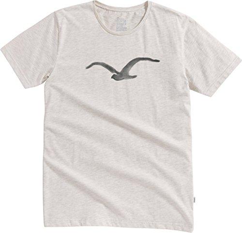 Cleptomanicx T-Shirt PASTELL MÖWE multicolour Creme