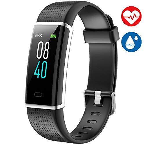 AISIRER Fitness Tracker Orologio Fitness Braccialetto Schermo a Colori Watch Bracciale Cardiofrequenzimetro da Polso Smartwatch Pedometro Impermeabile IP68 Donna Uomo HR Sport Android iOS Smartphone