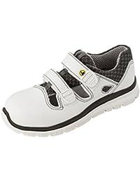 MaxguardDanel D036 - Zapatos de Seguridad Unisex Adulto, Color Blanco, Talla 42