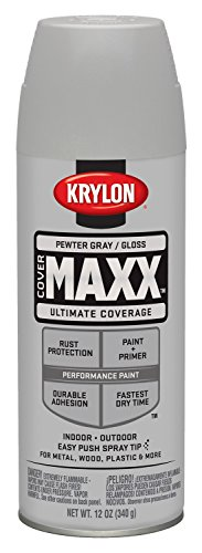 krylon-k09132000-covermaxx-spray-paint-gloss-pewter-gray-by-krylon