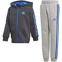 Adidas LK Hojo TS Chándal, Niños, Gris/Azul (Carbon s18), 140