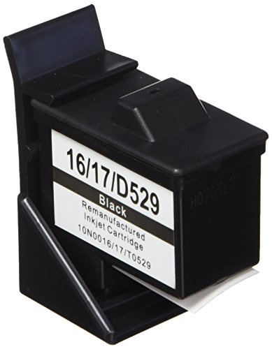 Prestige Cartridge No. 16 3er Pack Druckerpatronen für Lexmark i3 X1100 X1150 X1180 X1240 X1250 X1270 X1290 X2230 X2250 X74 X75 Z13 Z23 Z24 Z25 Z33 Z34 Z515 Z602 Z605 Z640 Compaq IJ650 IJ652 schwarz -
