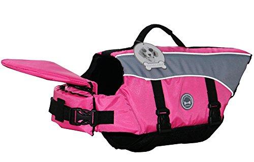 Vivaglory Dog Life Jacket Adjustable Buckle Dog Safety Vest Pet Lifesaver Coat 2