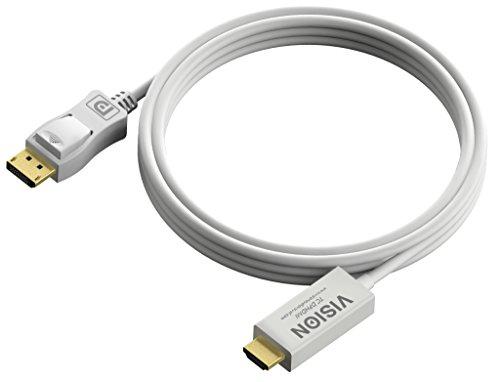 Vision Techconnect 2m DisplayPort zu HDMI-Kabel -