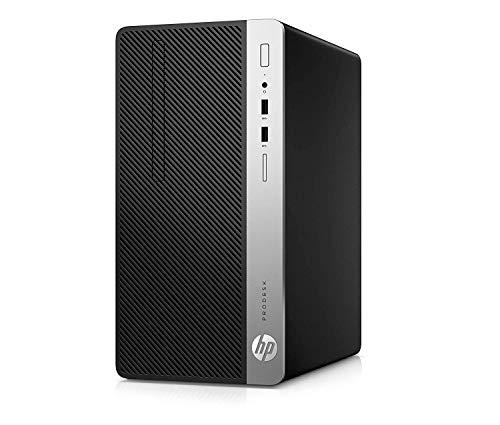 HP ProDesk 400 G5 MT - Ordenador de sobremesa profesional (Intel Core i7-8700 , 8GB RAM, 256GB SSD, Intel Graphics, Windows 10 Pro) Negro - Teclado QWERTY Español y ratón