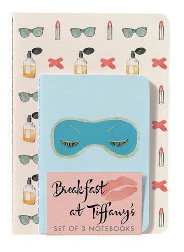 Breakfast at Tiffany's Notebooks (Set of 3) por Paramount