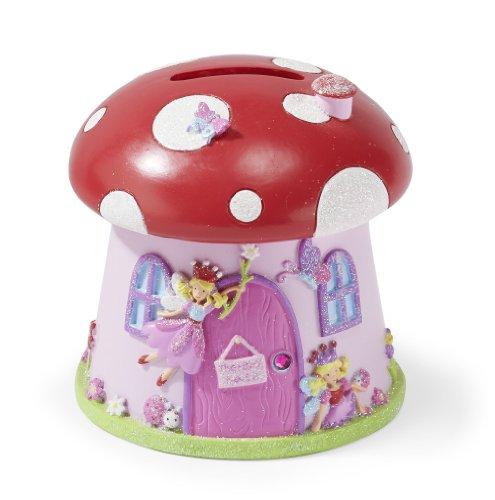 Magische Fee Spardose - glitzernde rosa Sparbüchse für Mädchen und Kinder - Lucy Locket
