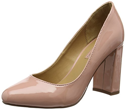 Dorothy Perkins Dafney Block Heel, Damen Pumps, Rosa (Peach), 38 EU (5 UK)