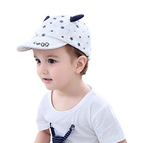 Schiebermütze Kinder UV-Schutz Baby Mütze Schiebermütze Sommer Kappe -