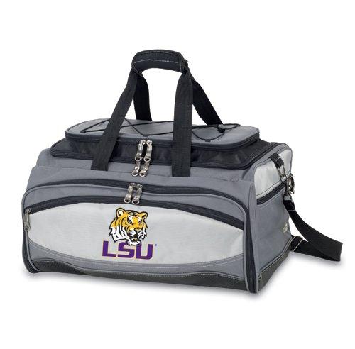 Picnic Time NCAA LSU Tigers Digital Set, Einheitsgröße, Schwarz -