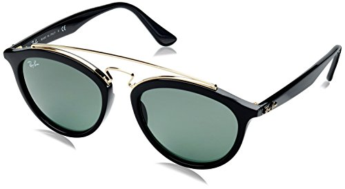 Ray Ban Mirrored Round Women's Sunglasses - (0RB4257|50|Green lens)