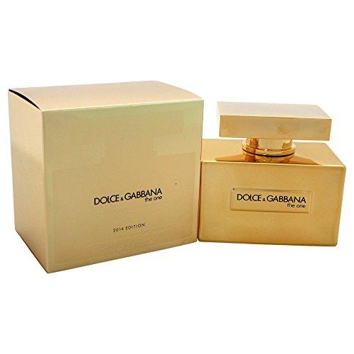 Dolce & Gabbana The One Gold 75 ml Eau de Parfum Spray für Sie, 1er Pack (1 x 75 ml)