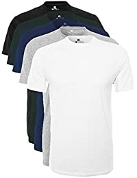 Lower East Men's LE105 T-Shirt, Pack of 5