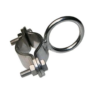 Arbo-Inox® - Edelstahlring mit Schelle - Edelstahl A2-22-30mm