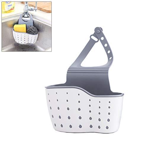 Ailyoo Sink Shelf Jabón Esponja Dish Rack Baño Titular