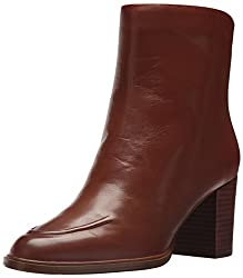 Aerosoles Womens City Council Ankle Boot, Dark Tan Leather, 5 M US