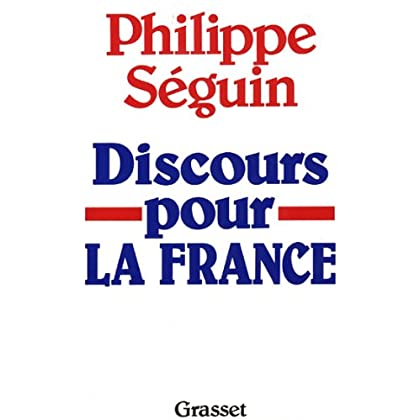 Discours pour la France (Littérature)