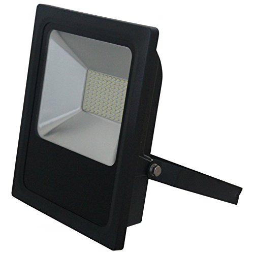 Projecteur LED 50W Ip65 4000k Noir B CLAREO