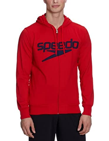 Speedo MORITZ sweatshirt white S Red china red Size:M