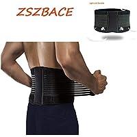 ZSZBACE Lendenwirbelstütze, Rückenstütze Verstellbarer Rückenstützgürtel für Beugt Verletzungen vor, Rückenbandage... preisvergleich bei billige-tabletten.eu