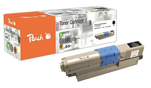 Preisvergleich Produktbild Peach Tonermodul schwarz kompatibel zu OKI 44469803