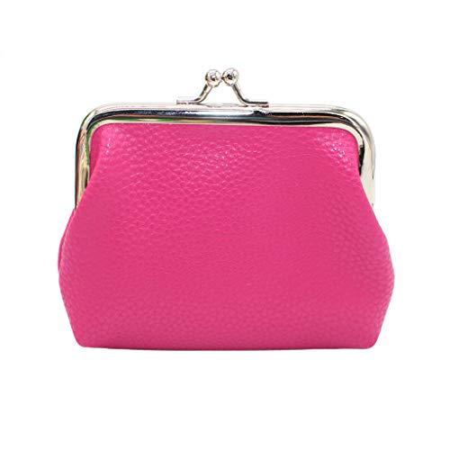 B-commerce Kleine Tageskupplungen - Frauen Einfarbig Geldbörse Brieftasche Tasche Schlüsselhalter Fall Mini ()