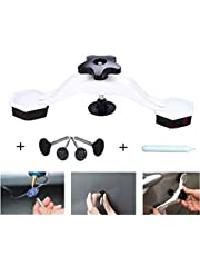 Fashionwu Car PDR Tools Body Dent Repair Set Puller Glue Pulling Tabs Tool Kit Suction Cup Dent Bridge Puller Kit