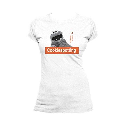 Remix Cookiespotting Official Men's T-Shirt (White) (Medium) ()