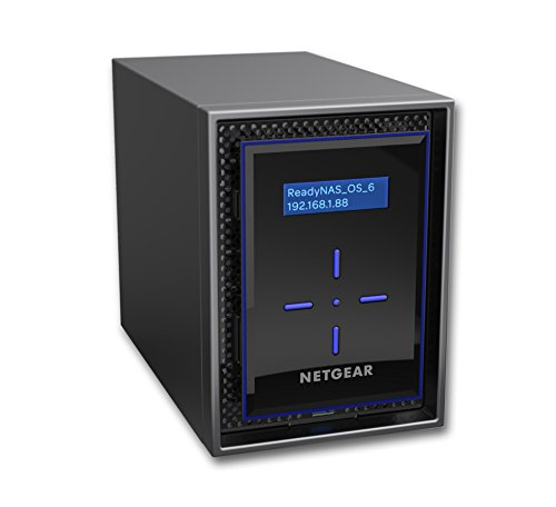 Netgear ReadyNAS® 8 TB Desktop Ethernet LAN Network Attached Storage – Schwarz
