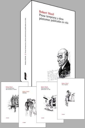 Prosa Temprana y Obras Postumas Publicadas en Vida Cover Image