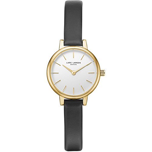 Lars Larsen lykke Oro Negro Piel 41 mm Watch