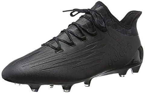 adidas Herren X 16.1 Fg Fußballschuhe, Schwarz (Core Black/Core Black/Dark