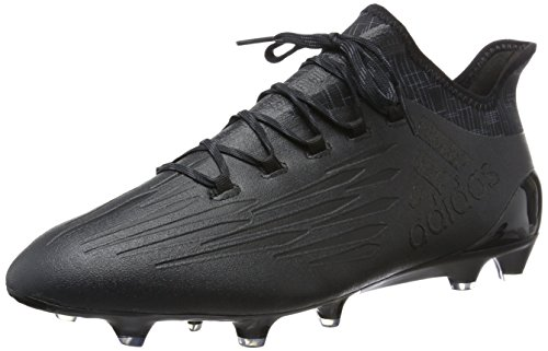 adidas X 16.1 Fg, Scarpe da Calcio Uomo, Multicolore Nero (Core Black/core Black/dark Grey)