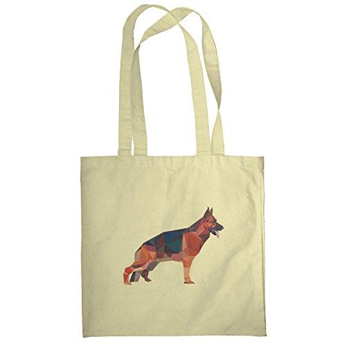 Texlab–Poly German Shepard–sacchetto di stoffa Naturale