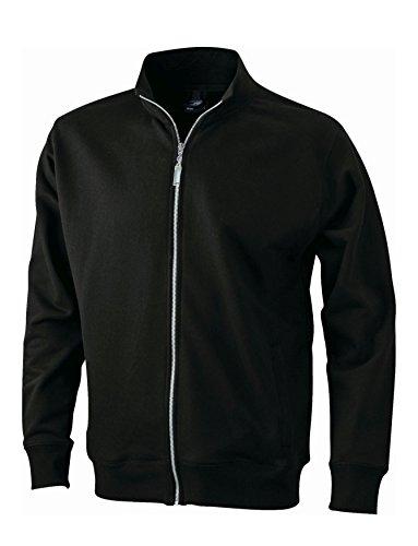 Men's Jacket/James & Nicholson (JN 046) S M L XL XXL 3XL Black