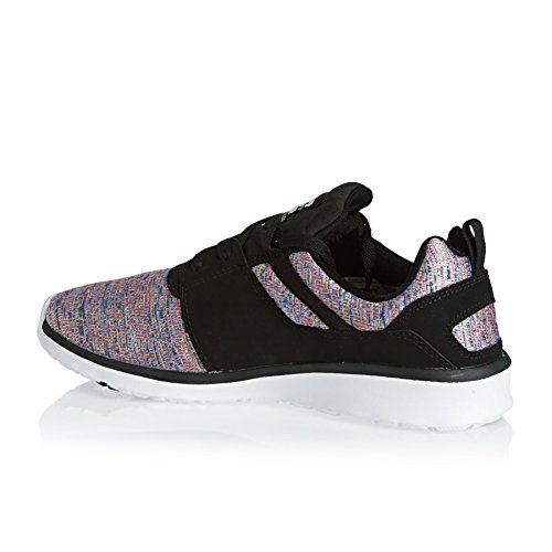 DC Shoes - Heathrow Se J, Sneaker Donna Nero