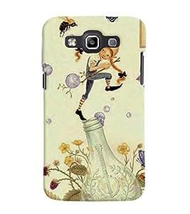 Fuson 3D Printed Cartoon Designer back case cover for Samsung Galaxy Quattro I8552 / Win I8550 - D4317