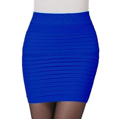 Jupe Crepon - Jupe de hanche Elyseesen 1pc Fashion Womens
