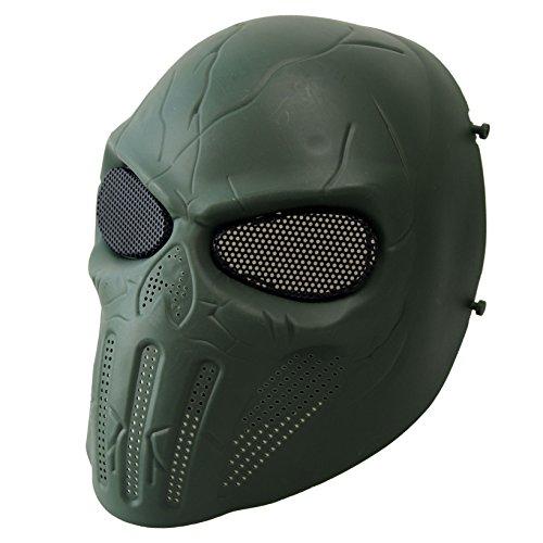 Wwman Masque de protection pour airsoft/paintball...
