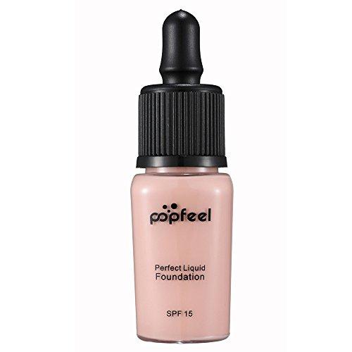 Challeng Foundation Feuchtigkeitsspendende Wasserdichte Concealer BB Creme Makeup Liquid (B)