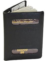 Pochette étui pour passeport en Cuir-9002 Trekking
