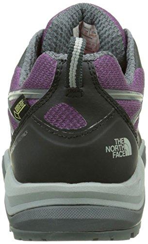 The North Face Damen Hedgehog Fastpack Lite Gore-Tex Trekking-& Wanderhalbschuhe Purple (Pamplona Purple/Tnf Black _ Yx7)