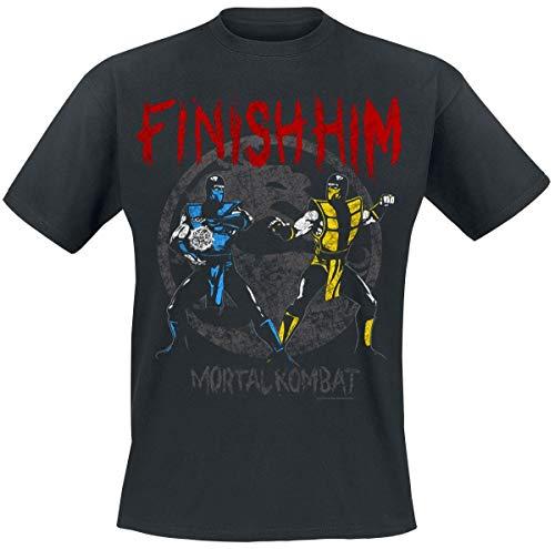 ro and Scorpion - Finish Him T-Shirt schwarz XXL ()