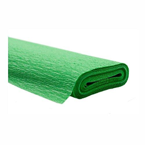 Krepppapier hellgrün 50x250 cm Rolle färbt nicht ab bei kontakt mit Wasser